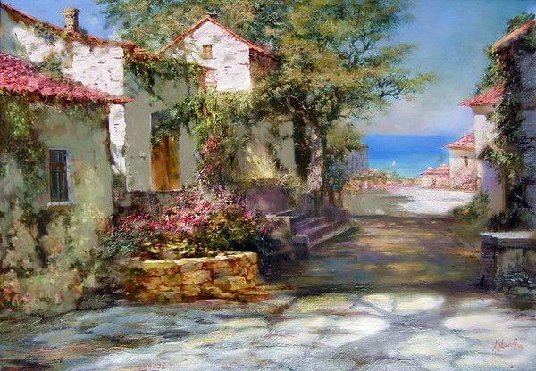 Paysages en peinture   C   (A.M)
