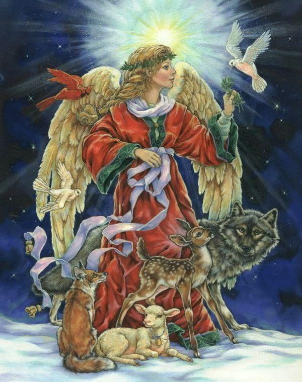 Les images de Noël (Paysages et illustrations féeriques) - Page 2 F4f59589