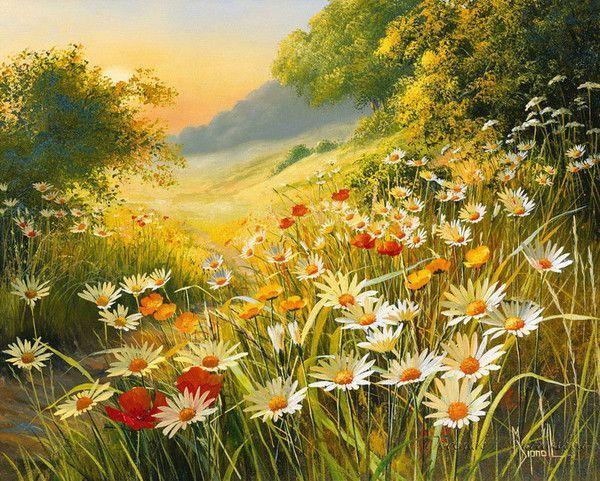 Paysages en peintures serie D  ( M.D)