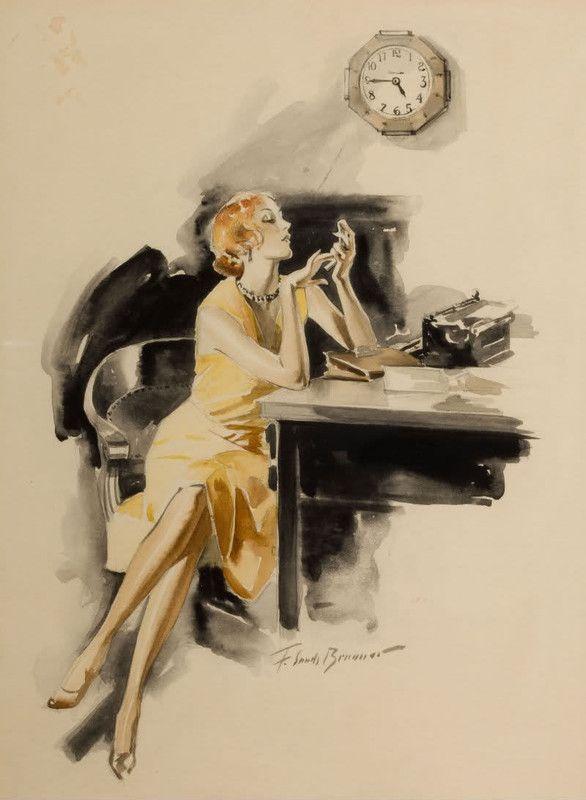 Illustrations vintages serie  C    (F.S.B)