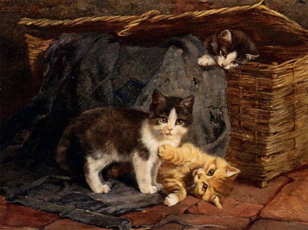 14 chats dans art classique - Page 23