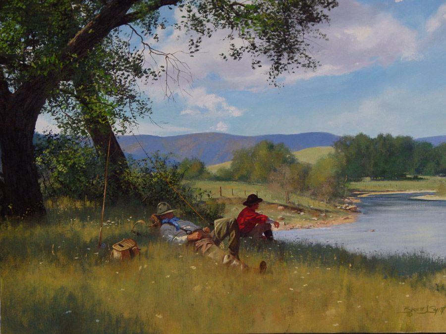 La pêche : Petite sieste après le pique-nique ... dans Belles images g7eduszu