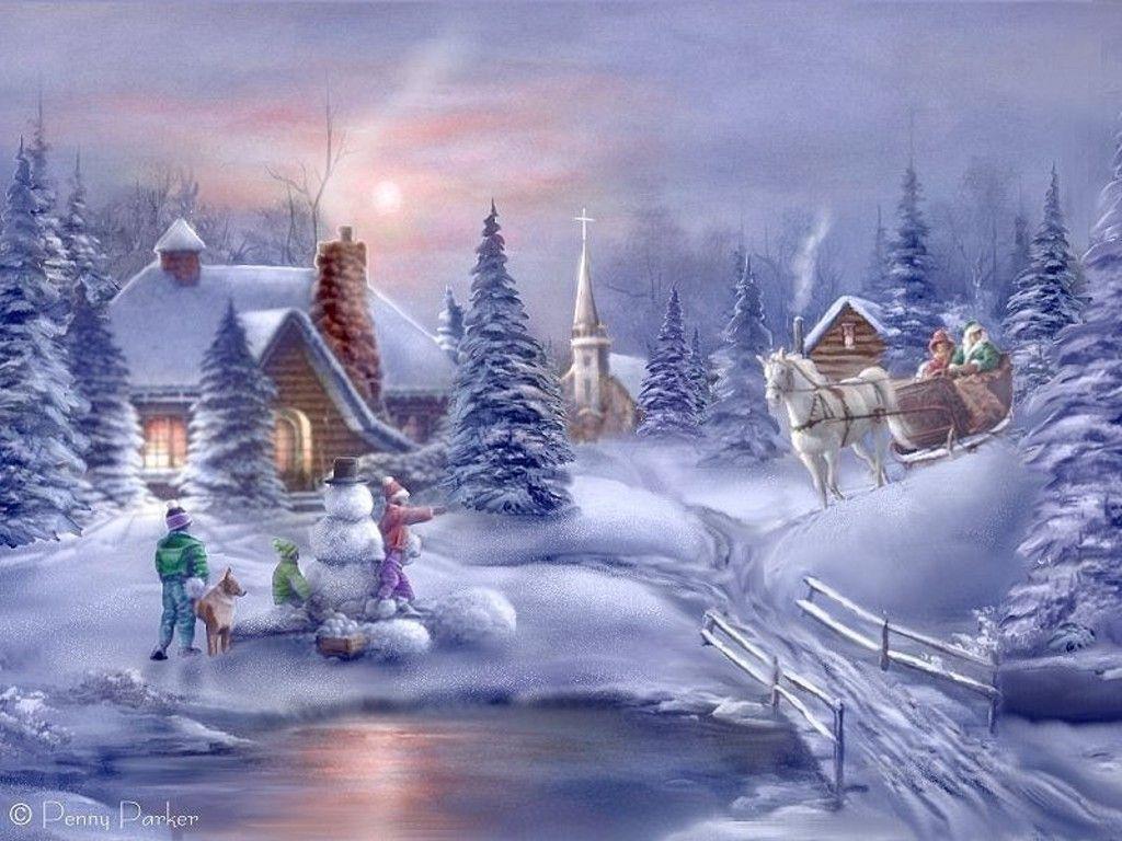 Fonds d ecrans pour l hiver page 15 for Fond ecran gratuit hiver