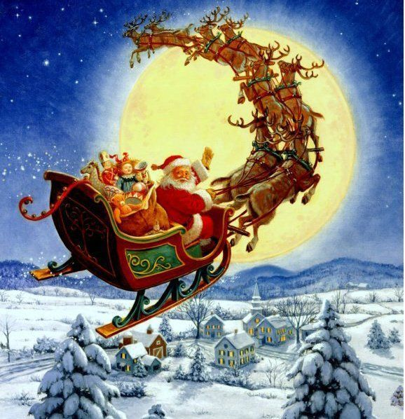 Noël - belles images pour faire rêver les petits enfants ... dans Noël et 1er de l An (83) nqilknu8