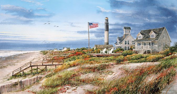 Oak Island Lighthouse Retreat