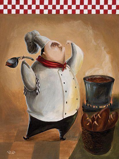 Art deco cuisiniers - Dessin cuisinier humoristique ...