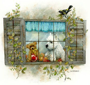 Mignonnes illustrations  / Fenetres