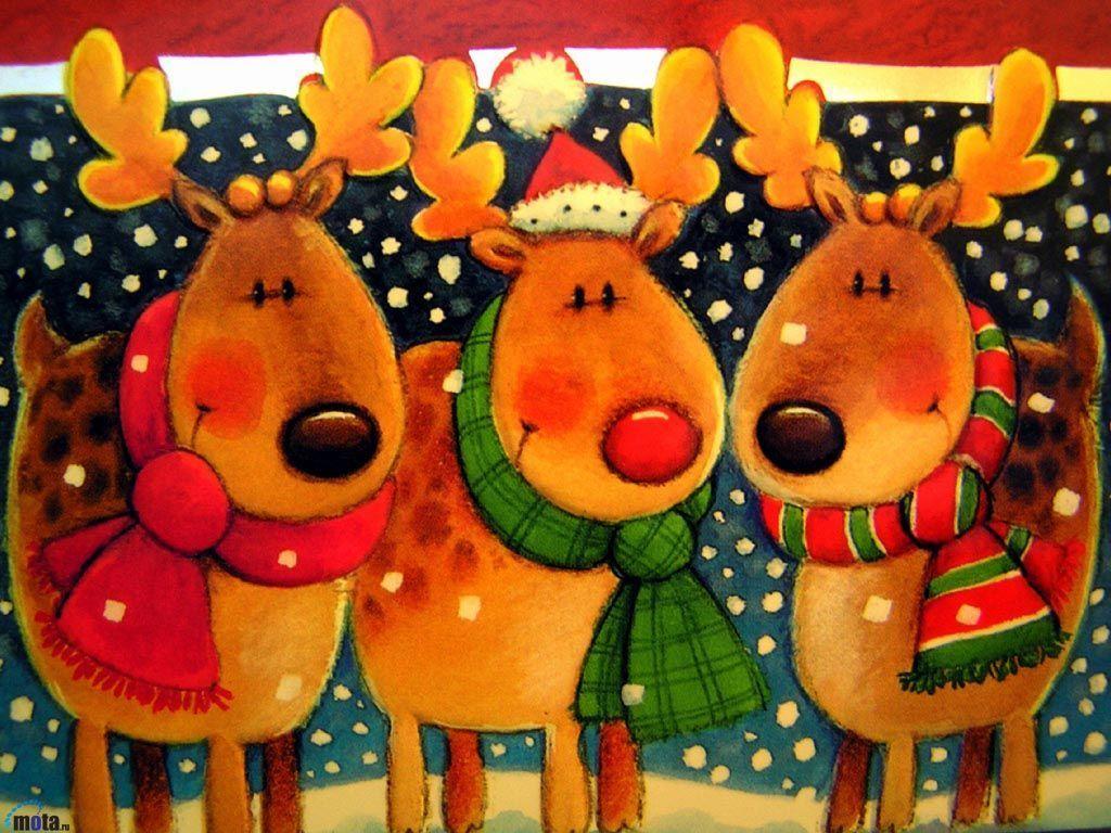 Belles images mignonnes d'hiver et de Noel