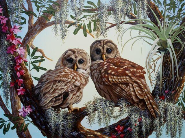 C'est chouette ! ... peintures de Donald RUSTY RUST  dans Art et Peintures (64) pi0osiuu