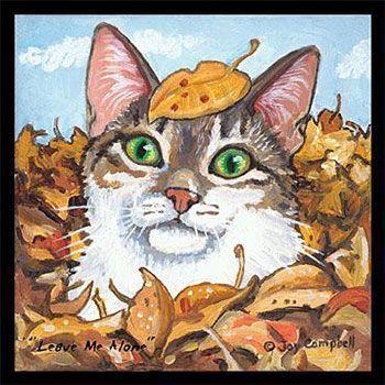 Chats peints premiere serie