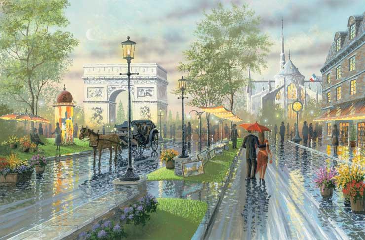 """Résultat de recherche d'images pour """"Jolies peintures de Paris"""""""