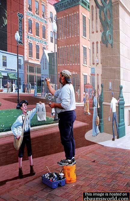 Trompe-l'oeil (mural) dans Illusions (69) v8y2jzeu