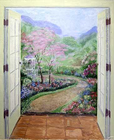 Trompe l oeil et illusions d optique page 17 for Peintures murales