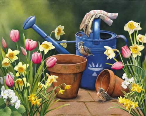 Fleurs et jardins en peinture page 42 for Fleurs et jardins
