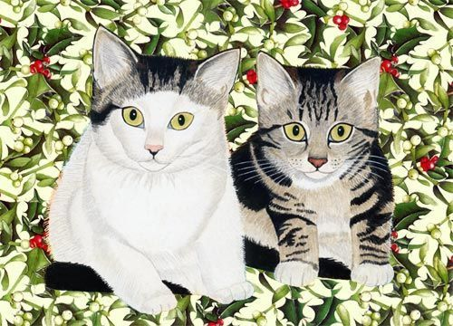 Chats en peinture